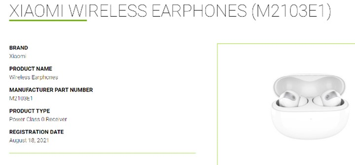New wireless headphones coming from Xiaomi Here is the first image